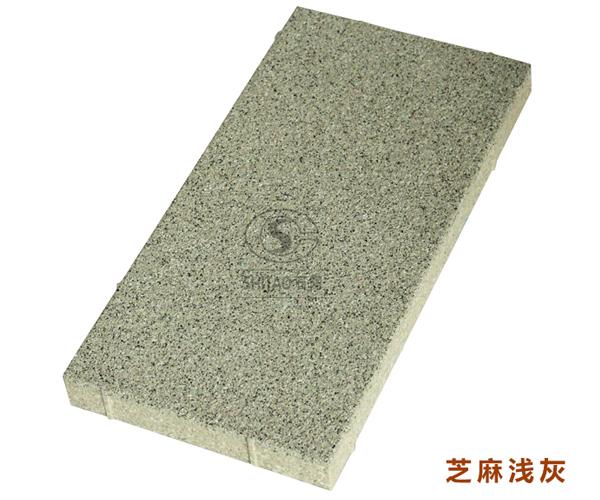 仿石透水磚-芝麻淺灰