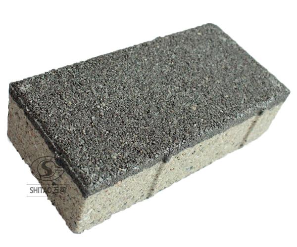 陶瓷透水磚黑色-1